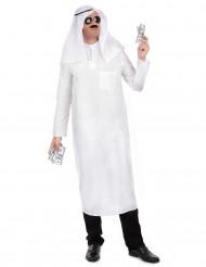 Costume Sceicco Arabo bianco per uomo