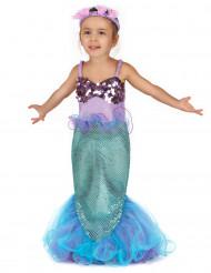 Costume da sirena magica per bambina