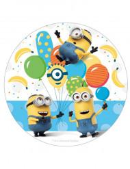 Disco zucchero Minions™ 16 cm