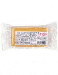 Pasta di zucchero dorata