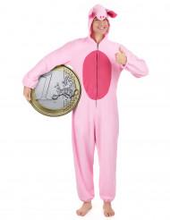 Costume maiale per donna