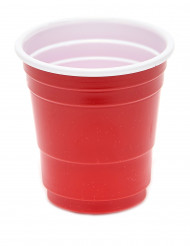20 Bicchierini di plastica - rosso