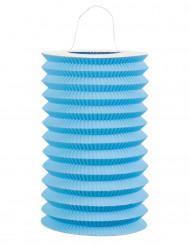 Lanterna di carta azzurra