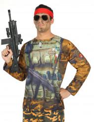 Maglietta da militare per uomo