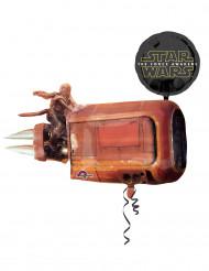 Pallone in alluminio 88 x 73 cm Star Wars VII™