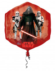 Pallone in alluminio rosso e blu Star Wars VII™