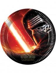 8 Piattini di carta Star Wars VII™