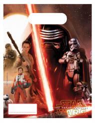 6 Sacchetti per caramelle Star Wars VII™