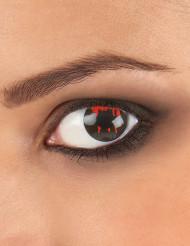 Lenti a contatto occhio ferito adulto Halloween