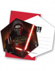 6 Cartoncini d'invito Star Wars VII™