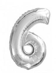Palloncino alluminio numero 6°
