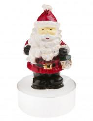 2 Candeline Babbo Natale 6.5 cm