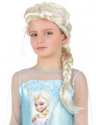 Parrucca treccia bionda principessa delle nevi