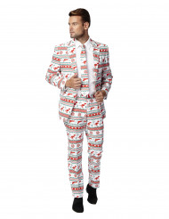 Costume Mr Gangster di Natale per uomo Opposuits™