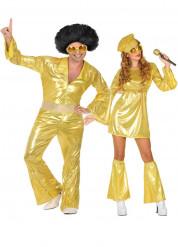 Costume di coppia disco dorato