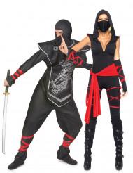Travestimento coppia ninja