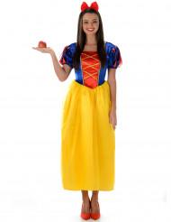 Costume da principessa donna con gonna gialla