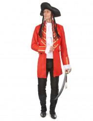 Costume pirata rosso da uomo