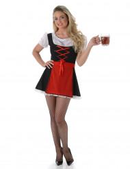 Costume da baverese donna per Oktoberfest