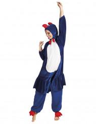 Costume da gallo tifoso della Francia - adulto