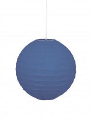 Lanterna giapponese blu