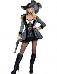 Travestimento Pirata di alto mare donna