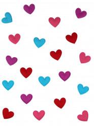 20 coriandoli da tavola cuore