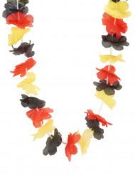 Collana hawaiana tricolore