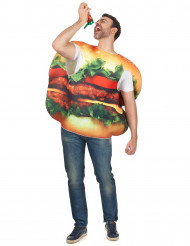 Costume da hamburger per adulto