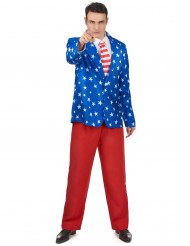 Costume da Mr America per adulto