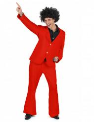 Costume disco rosso per uomo