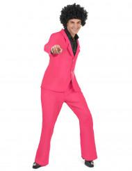 Costume disco rosa uomo