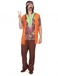 Costume hippie adulto