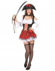 Costume da piratessa sexy per adulto