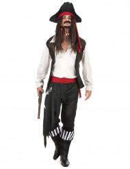 Costume da pirata temibile per uomo