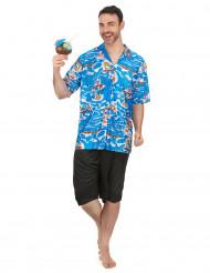 Costume da turista hawaiano per uomo