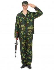 Costume da soldato per uomo