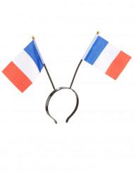 Cerchietto con bandierine Francia adulto