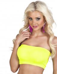 Fascia elastica giallo fluo donna