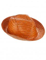 Cappello Panama arancione adulto