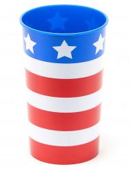 Bicchiere USA in plastica rigida