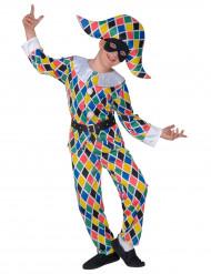 Costume da arlecchino per bambino
