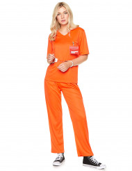 Costume da detenuta arancione