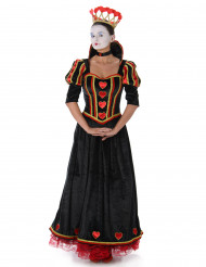Costume regina di cuori donna in nero