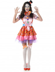 Costume da clown donna