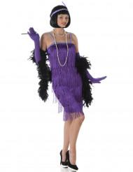 Costume da ballerina di Charleston viola per adulto