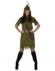 Costume da donna della foresta