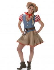 Costume cowgirl donna