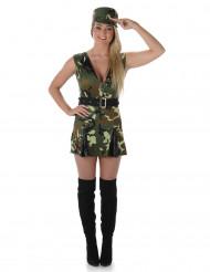 Costume da soldatessa sexy per adulto