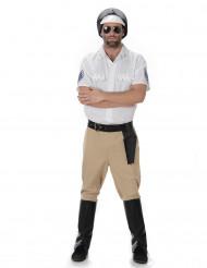 Costume poliziotto motociclista adulto